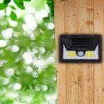 Оригинал 5W Водонепроницаемы Солнечная Настенный светильник COB LED Emergency На открытом воздухе Сад Двор PIR Motion Датчик Улица Лампа