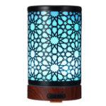 Оригинал 7 LED Color Essential Масло Диффузор Увлажнитель железа Металл Увлажнитель Диффузор Iron Art