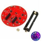 Оригинал WS2812B Ring Shield For Arduino Зарядное устройство 18650 батарея Литий-зарядное устройство RGB LED Плата расширения