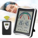 Оригинал Беспроводная цифровая Термометр Погодная влажность для внутреннего На открытом воздухе измерителя температуры