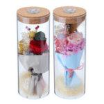 Оригинал Бутылка Bloom LED Rose Лампа Бутылки с цветами Light с Дистанционное Управление Ночной свет Подарок Atmostphere