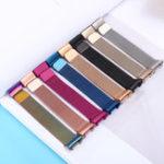 Оригинал Colorful Миланские часы с ремешком из нержавеющей стали Стандарты для Fitbit Charge 3
