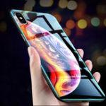 Оригинал BakeeyУстойчивоекцарапинамзакаленноестекло + ТПУ Защитный Чехол для iPhone XS Макс