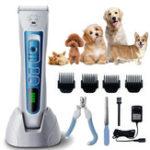 Оригинал Pet Shaver Волосы Машинка для стрижки малошумных беспроводных Собака Кот