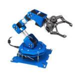 Оригинал LOBOT 6DOF Программируемая Палка / APP система управления роботизированным царапинным металлическим стержнем с сервоприводами