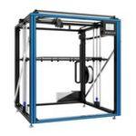 Оригинал Tronxy® X5ST-500 Алюминиевый 3D-принтер Большой размер печати 500 * 500 * 600 мм с 3,5-дюймовым полноцветным сенсорным экраном / детектором разряда накали