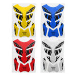 Оригинал Универсальный 3D мотоцикл Tank Pad Наклейка Защитная крышка Наклейка Для Honda/Yamaha / Suzuki