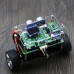 Оригинал DIY STM32 Smart RC Balance Авто Bluetooth APP Control Ультразвуковой контроль препятствий после режима с экраном OLED
