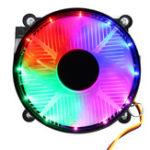 Оригинал DC 12V 9cm 3-контактный Colorful CPU LED Радиатор вентилятора охлаждения для AMD FM1 / FM2 / AM3 + / AM3 / AM2 + / AM2