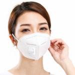 Оригинал N95 4-слойный дыхательный клапан пылезащитный антивирус Fog Pathogen Маска