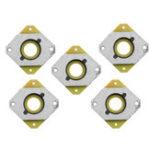 Оригинал 5 Шт. 52.5 * 52.5 * 7 мм 42 Stepper Мотор Амортизатор Стальной Амортизатор Для 3D Принтера