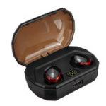 Оригинал [Bluetooth 5.0] True Wireless Earbuds TWS Двусторонние стереофонические вызовы IPX7 Водонепроницаемы Наушник Наушники с 2000 мАч Charing Коробка Power Bank