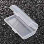 Оригинал ЖесткийпластикЧехолКрышкана2 слота для хранения Коробка Прозрачная крышка Батарея Держатель для 2 AA AAA Аккумуляторы