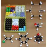 Оригинал 267PcsХимияОрганическаяНеорганическаяМолекулярнаяСтруктура Модель Набор 116 шаров и 150 палочек Медицинская Модель