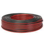 Оригинал Аудио кабель 100м2 х 0,50 мм Громкоговоритель Провод Черный / Красный HiFi / Авто мотоцикл
