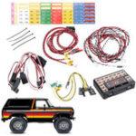Оригинал 1 комплект Светодиодный Система для 1/10 гусеничного Traxxas TRX4 Ford Bronco Ranger XLT RC Авто Запчасти