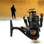 Оригинал JK1000-70005.1/5.2:1спиннинговые катушки 12BB соленая вода пресная вода левая / правая рука Рыбалка катушка