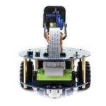 Оригинал WaveShare DIY Raspberry 3B + AlphaBot2 Smart RC Robot Авто Инфракрасное отслеживание, предотвращение Bluetooth Управление с камера