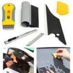 Оригинал Professional Window Tint Набор Набор Пленка для тонировки виниловых листов Установка