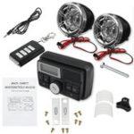 Оригинал Bluetooth Аудио FM Радио MP3 Стереодинамик Звуковая система мотоцикл Велосипед ATV UTV