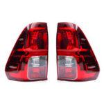 Оригинал Авто Задний левый / правый задний фонарь тормозной системы Лампа в сборе без лампочки для Тойота Hilux Revo 2015-2018