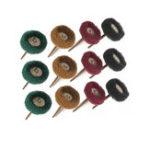 Оригинал 12штэлектрическийДремельукропшлифовальныеаксессуары абразивный круг Nylon волокно гравировка шлифовальная головка полировка шлифов