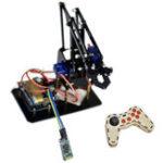 Оригинал  DIY STEAM Arduino Smart RC Рука робота Акриловые Обучающие Набор с сервоприводами