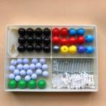 Оригинал 125PcsОрганическаяхимияМолекулярнаяструктураМедицинская Модель Набор Общие и органические молекулярные атомные связи Студенческий