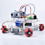 Оригинал DIY Arduino STEAM Smart RC Robot Авто Программируемый универсальный колесный диск Набор