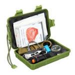 Оригинал 195 Шт. Модернизированный Аварийное Выживание Набор Набор Multi-Набор для Кемпинг Туризм Охота Поставки Первой Помощи Survival Gear SOS
