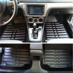 Оригинал 3шт искусственная кожа полный корпус Авто напольный коврик передний задний вкладыш Водонепроницаемы для Kia Optima 2011-2016