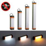 Оригинал 2Вт/3,5Вт/ 5,5 Вт / 7,5 Вт На открытом воздухе Кемпинг Магнитный свет Репеллент от комаров LED Лампа 3 режима USB перезаряжаемый аварийный фона