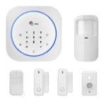 Оригинал DigooDG-MAS1Новый433МГцБеспроводной GSM DIY Комплекты домашней сигнализации IOS и Android APP Домофон Сирена