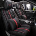 Оригинал 13шт искусственная кожа Авто 3D чехол на сиденье подушка полный объем универсальный для 5 мест Авто