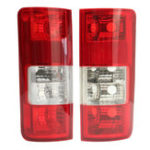 Оригинал Авто Задний задний фонарь, резервное копирование Лампа Объектив Shell Red Pair для Форд Транзит Коннект 2002-2009