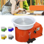 Оригинал 250W 110V Электрическая гончарная круглая съемная машина Керамический Work Clay Art Craft