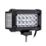Оригинал 6 Дюймов LED Боковой Shooter Work Light Tri Row 54W 3400LM 6000K для внедорожных грузовиков SUV мотоцикл
