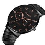 Оригинал BIDENBD0047Ультратонкаянеделявстиле casual Дисплей Мужские часы