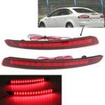 Оригинал LED Задний бампер Отражатель света Предупреждает задний тормоз Лампа для Форд Мондео Фьюжн 2011-2012