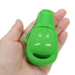 Оригинал 4 Кнопки Силиконовый Дистанционный Ключ Чехол Брелок Обложка Shell Skin для Saab 9-3 9-5 03-15