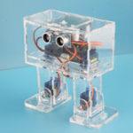 Оригинал DIY STEAM Arduino Nano Танцы RC Робот Развивающая игрушка Робот с сервоприводами