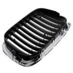 Оригинал Передняя хромированная черная решетка радиатора для BMW 95-04 E39 5-series 525 530 535 540 M5