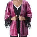 Оригинал Женское Пиджаки с длинными рукавами и кисточками с длинными рукавами