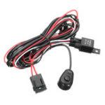 Оригинал Жгут проводов Набор с реле-выключателем 12V 40A 2M для LED DRL дневного света фар