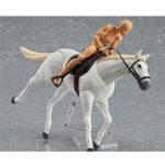 Оригинал Figma Action Figure Лошадь Модель Игрушка Имитация животных 11см Подарочная коллекция Декор