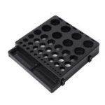 Оригинал 230x210x40mmПластиковыйцанговыйпатрондляхранения Коробка Фреза для хранения Коробка ER Патрон Коробка Инструмент Хранение деталей Токар