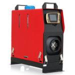 Оригинал Diesel Air Нагреватель Host 1-8KW Регулируемая 12V 1 Отверстие LCD Дистанционное Управление Комплексная парковка Нагреватель Машина
