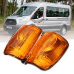Оригинал Авто Указатель поворота дверного крыла Лампа Огни указателей поворота для Ford Transit MK8 2014 года.