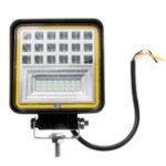 Оригинал 48W 42LED Авто Work Light Combo Beam Лампа DRL Amber Angel Eye Light для внедорожного