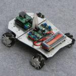 Оригинал DIY 4WD ROS Smart RC Robot Авто Программируемый Bluetooth APP Control 60 мм Mecanum Колесо с системой подвески